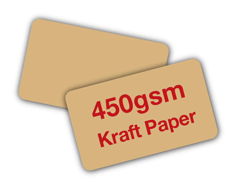Kraft Paper Cards 450gsm Unique Stock Cards Business