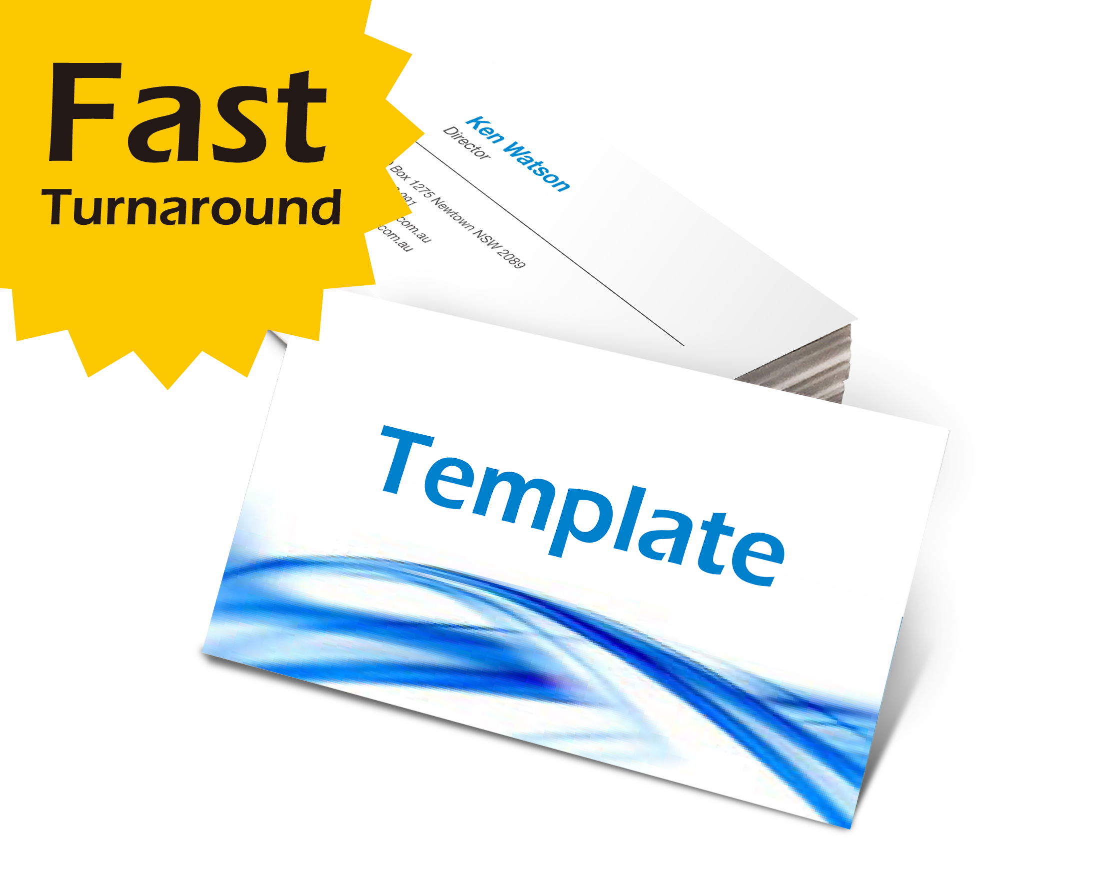 Fast Turnaround Cards Gloss Cello Front Fast Turnaround