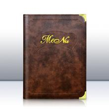 A4 Menu Cover - Additional Pockets