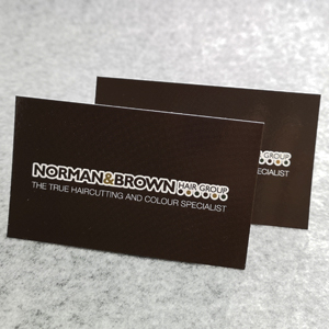 Gloss Front Business Cards-400gsm